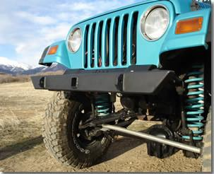 Competition 4x4 - Heavy Duty Front Bumper - Comp4x4
