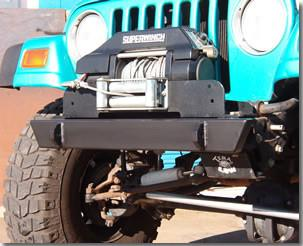 Competition 4x4 - Shorty Front Bumper - Heavy Duty - Comp4x4