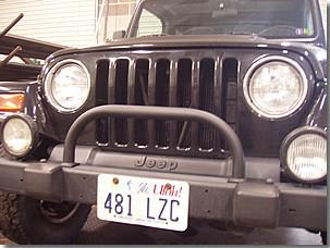 Trailer Hitches For Sale >> Jeep Wrangler Classic Hoop Brush guard