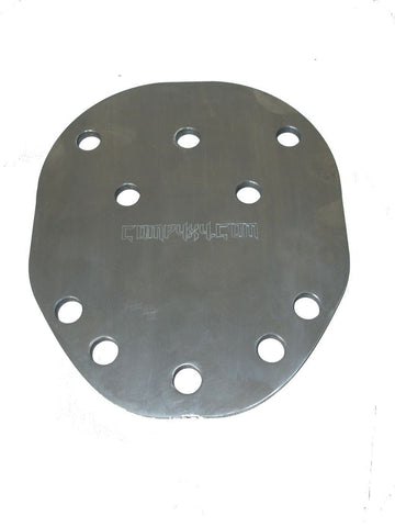 Multi-pattern Spare Tire Mounting Plate - Comp4x4