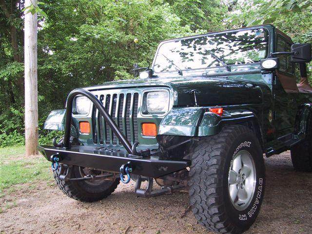 Jeep Wrangler Competition Stinger Brush Guard