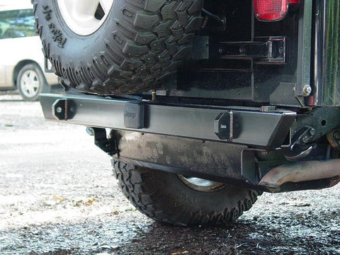 Competition 4x4 - Heavy Duty Rear Bumper - Comp4x4