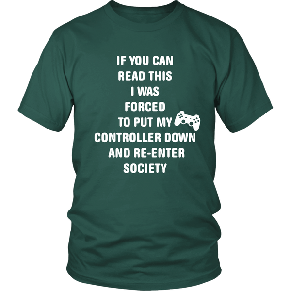 I Put My Controller Down Shirt