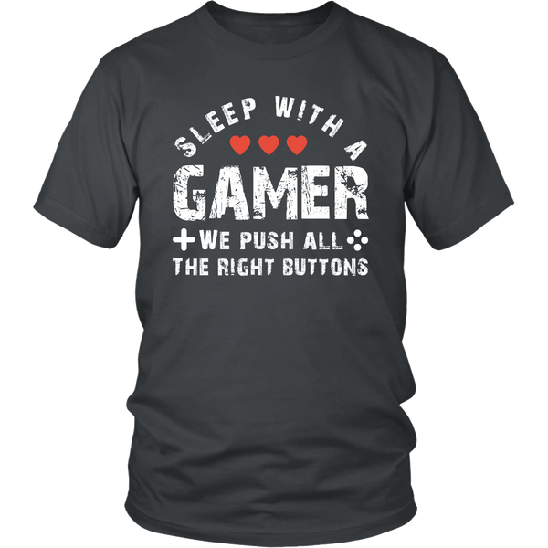 Sleep with a Gamer Shirt