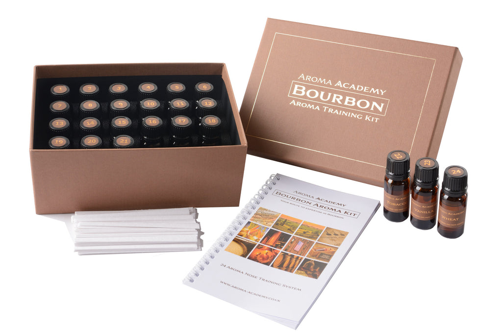 Bourbon Aromas Kit - 24 Aroma Nose Training System