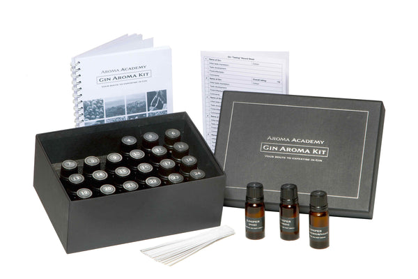 Gin Aromas Kit - 24 Aroma Nose Training System