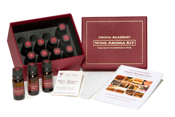Wine Aroma Nose Training System - 12 Wine Aromas Kit