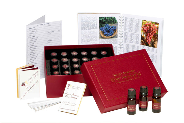Wine Aroma Nose Training System - 24 Wine Aromas Kit