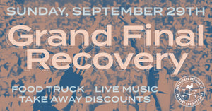 Grand Final Recovery – Sunday, Sept. 29th 2019
