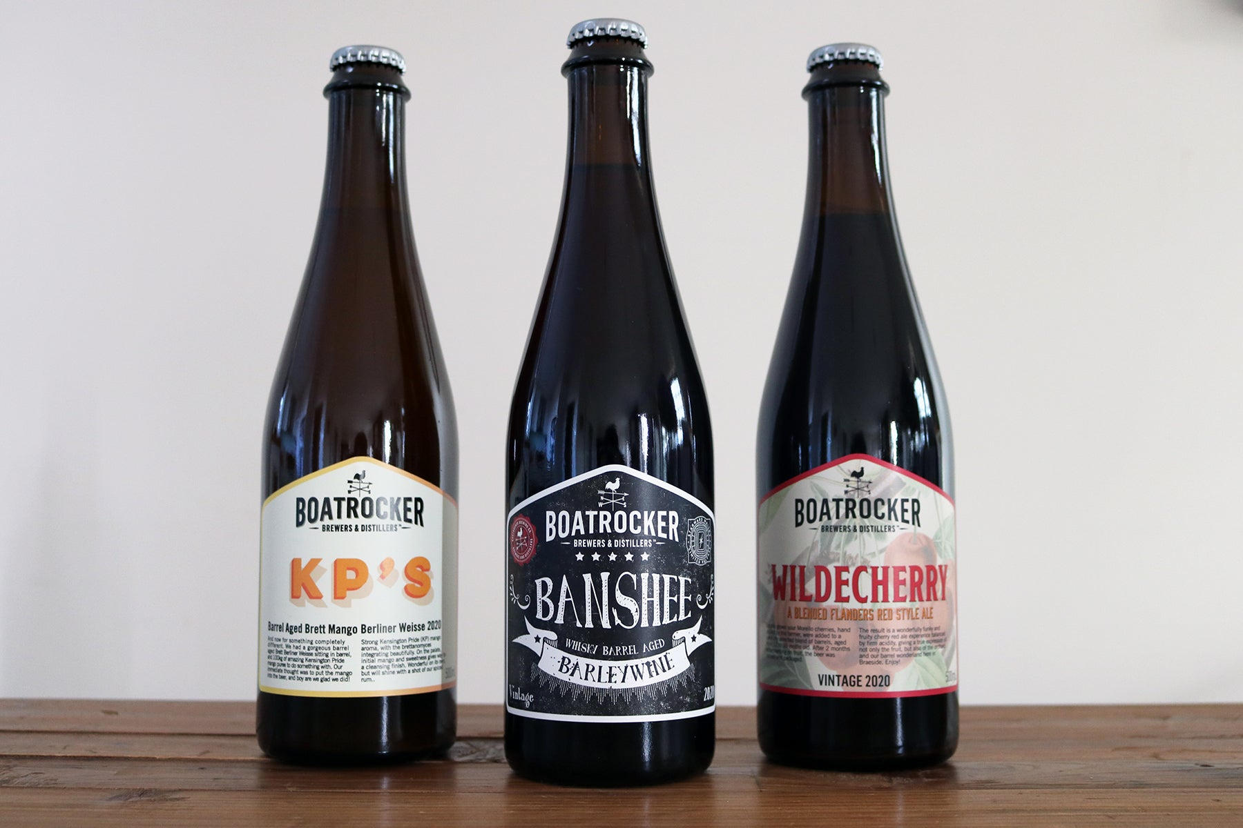 CRAFTY PINT ARTICLE - THREE VERY DIFFERENT BARREL AGED BEERS