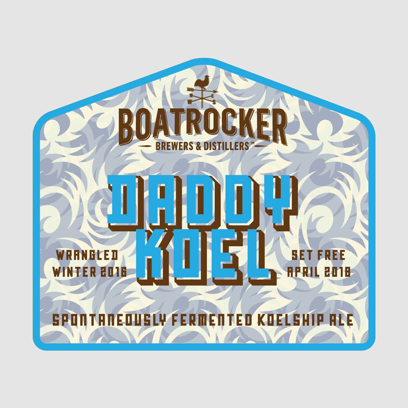 Boatrocker Daddy Koel Spontaneously Fermented Koelship Ale Logo