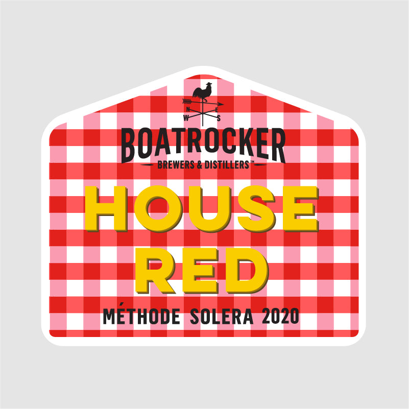 Boatrocker House Red Methode Solera Flanders Style Red Logo