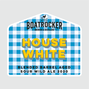 Boatrocker House White Barrel Aged Sour Wild Ale Logo