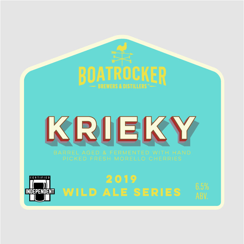 Boatrocker Blended Morello & Black Cherry Wild Ale Logo