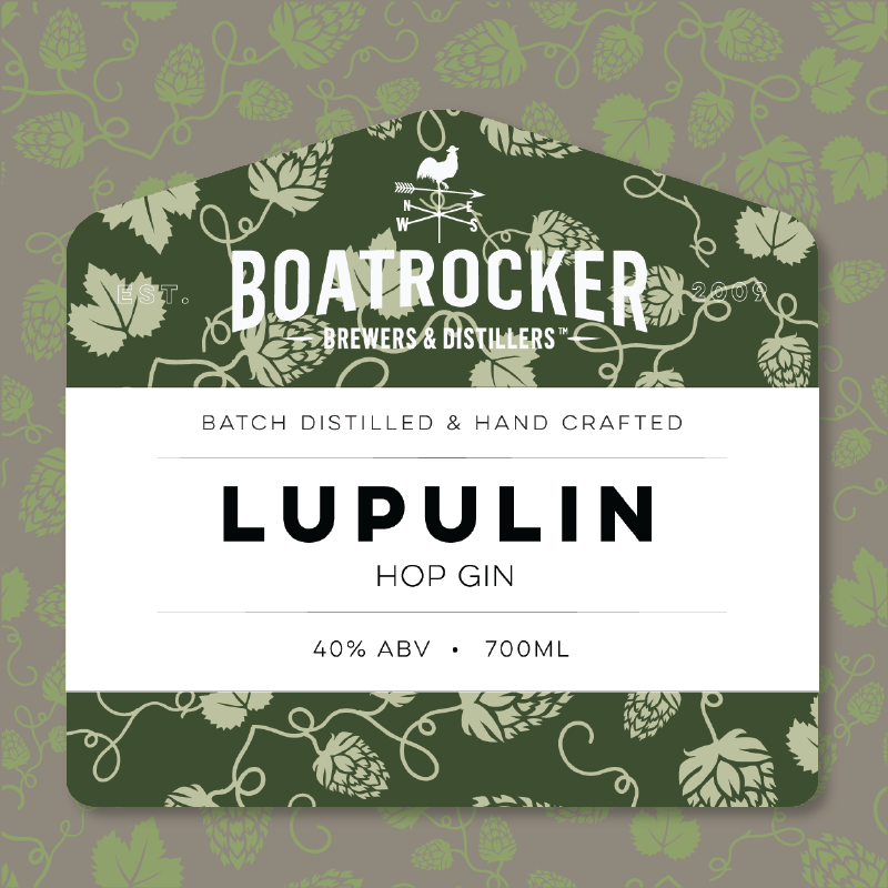 "Boatrocker ""Lupulin"" Hop Gin"