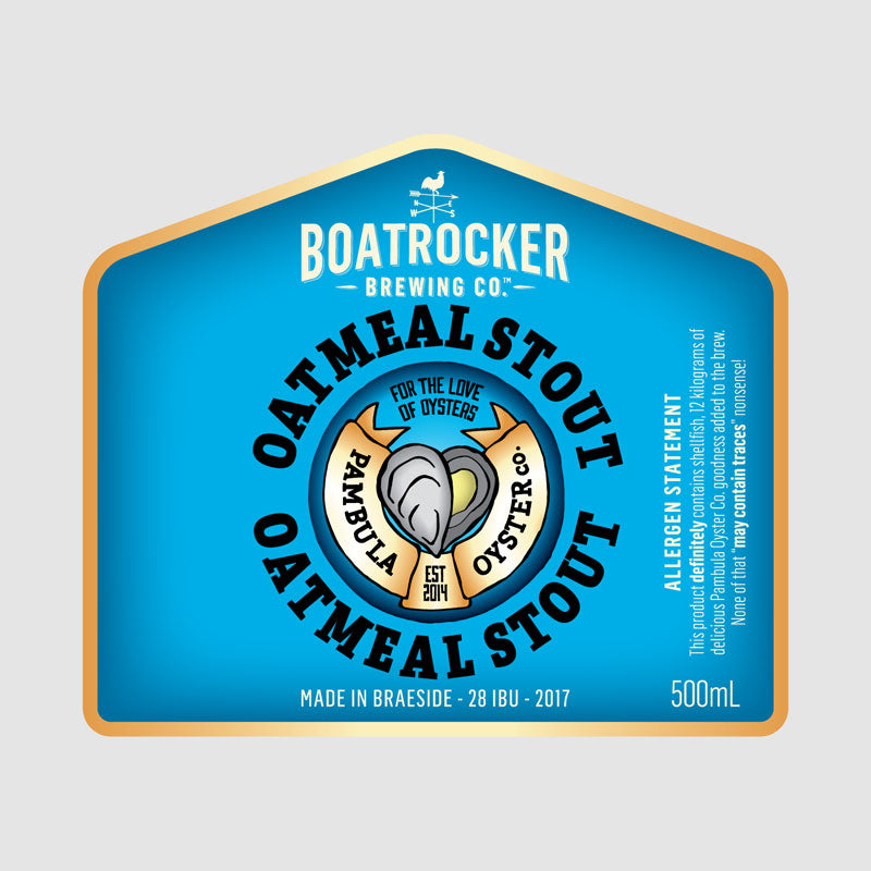 Oyster Oatmeal Stout
