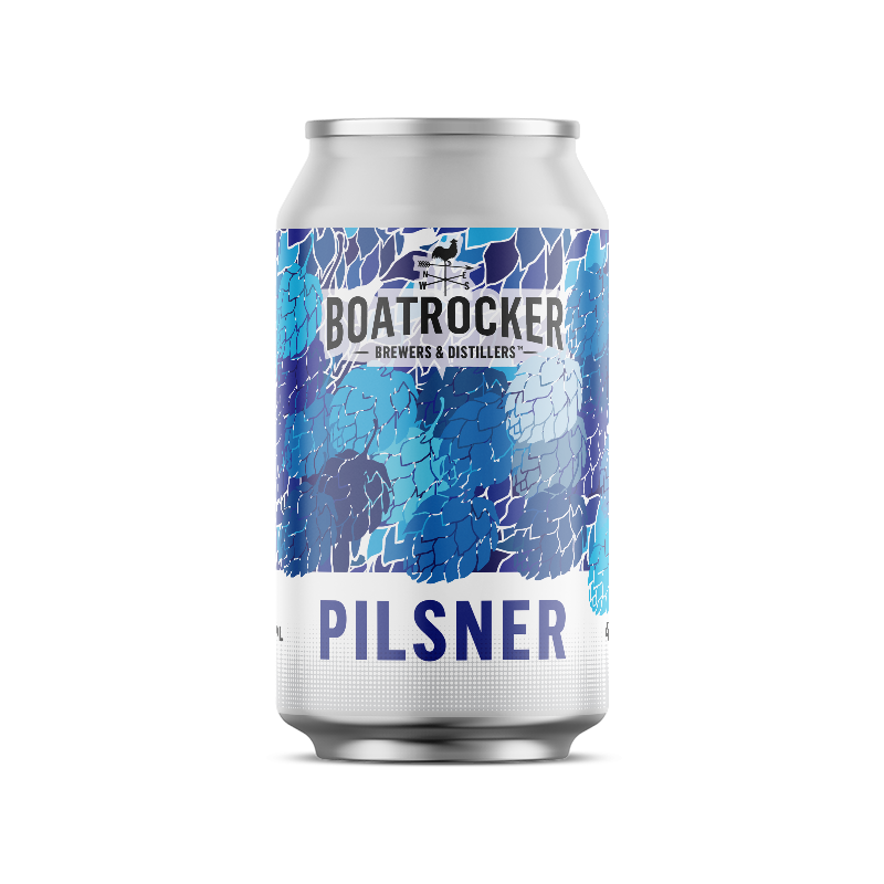 Boatrocker German Style Pilsner Beer Logo