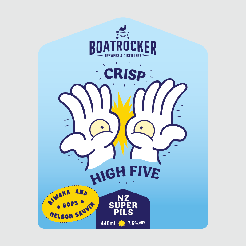 Crisp High Five | Can