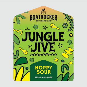 Boatrocker Jungle Jive Hoppy Sour Beer Logo