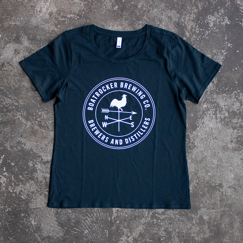 Women's Logo Tee - Navy
