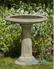 How to Keep Large Bird Baths Clean