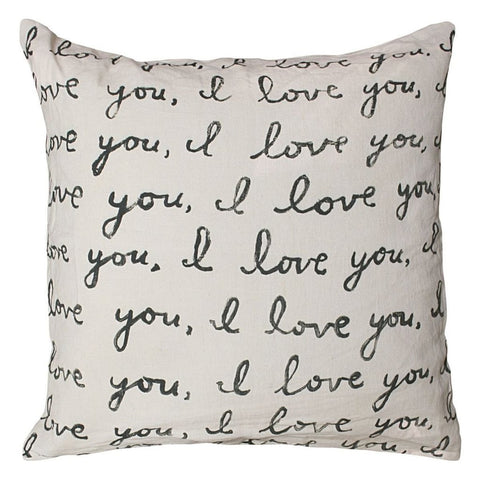 Letter For You Pillow by Sugarboo Designs