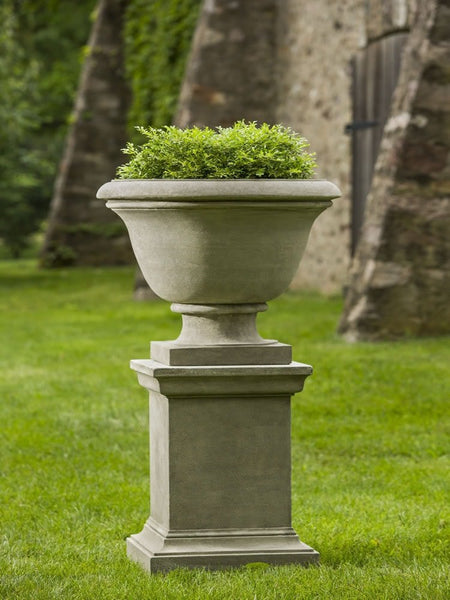 Campania International Greenwich Urn with Pedestal