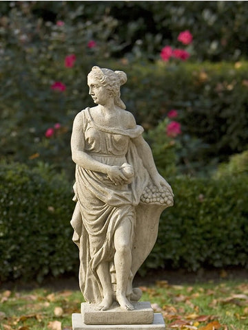 Campania International Four Seasons Fall Garden Statue