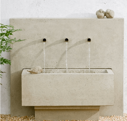 https://www.thegardengates.com/collections/garden-wall-fountains/products/campania-international-x3-wall-fountain