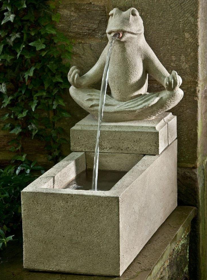 CAMPANIA INTERNATIONAL ZEN PLINTH FOUNTAIN