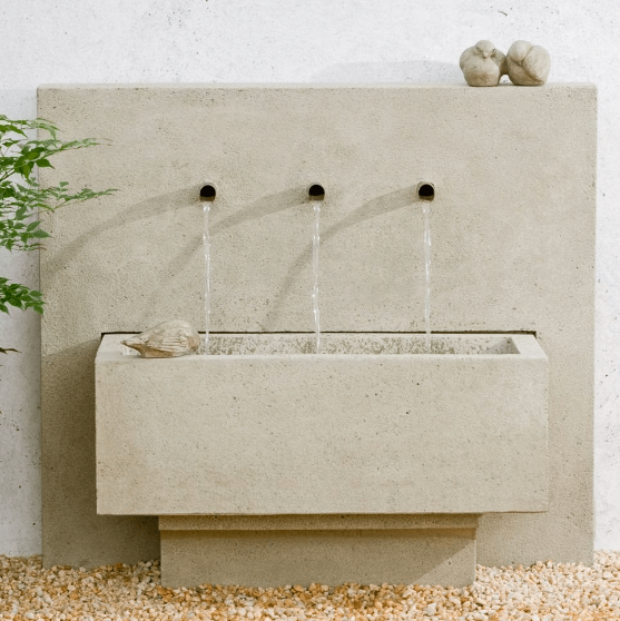 CAMPANIA INTERNATIONAL X3 WALL FOUNTAIN