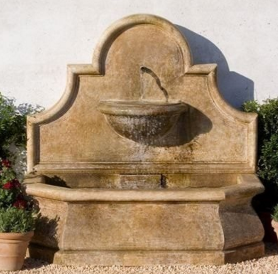 CAMPANIA INTERNATIONAL ANDALUSIA WALL FOUNTAIN