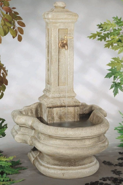 COLUMN WELL FOUNTAIN BY HENRI STUDIO