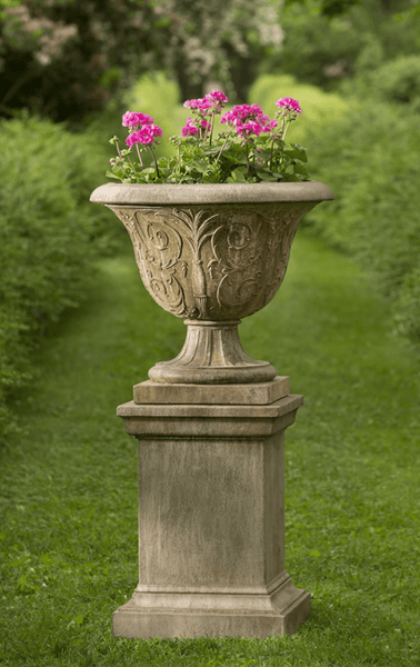 Campania International Palais Arabesque Urn with Pedestal
