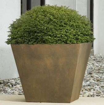 Campania International  Davos Square Planter