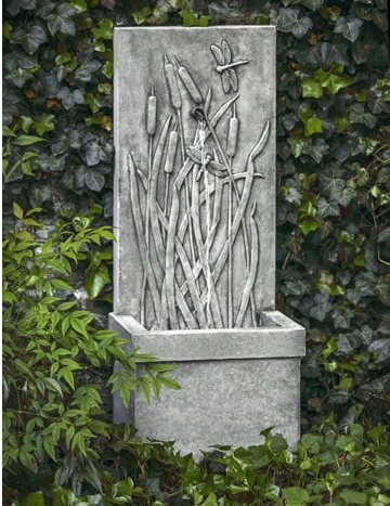 Campania International Dragonfly Wall Fountain