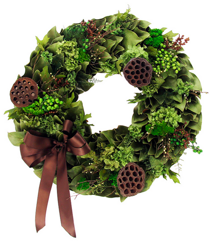 Chocolate Verde Wreath