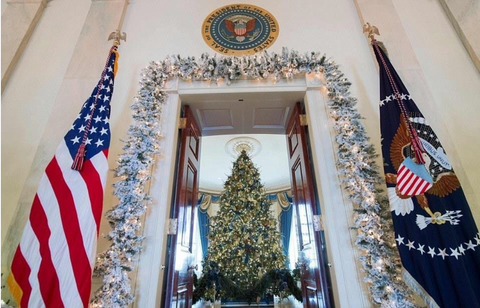 2017 White House Blue Room  Fraser Fir provided by one of our Tree Farm Partners