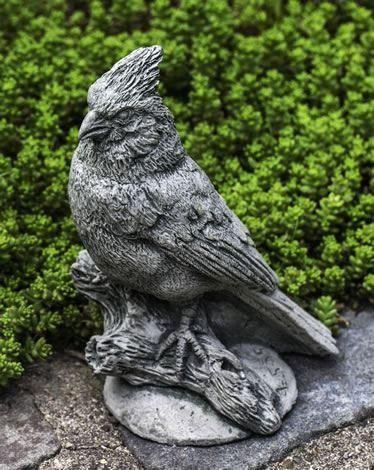 Northern Cardinal Garden Statue by Campania International