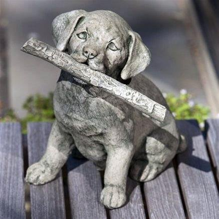 Proud Pup Statue by Campania International