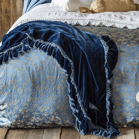 Loulah Throw Blanket by Bella Notte Linens