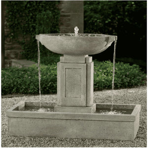 Campania International Austin Fountain - Patio Fountains