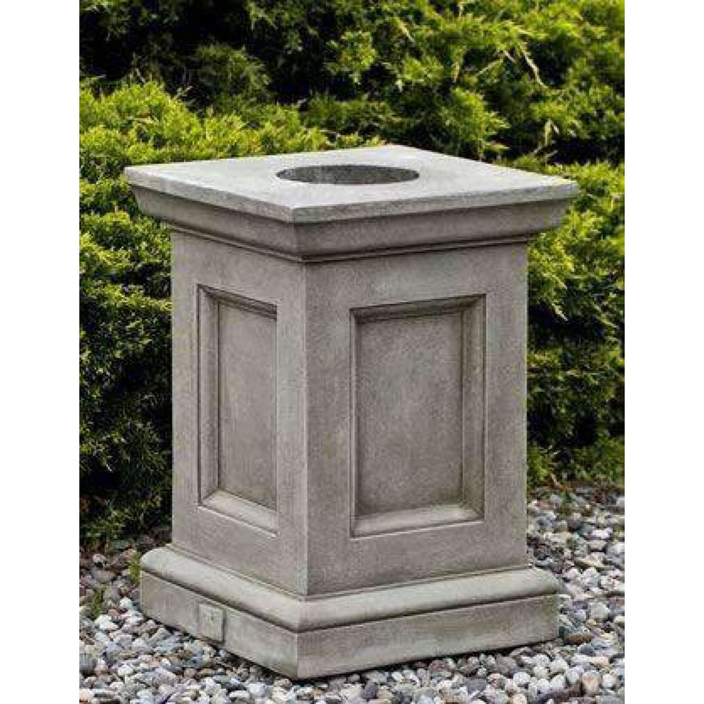 Campania International Barnett Pedestal - Outdoor Pedestals