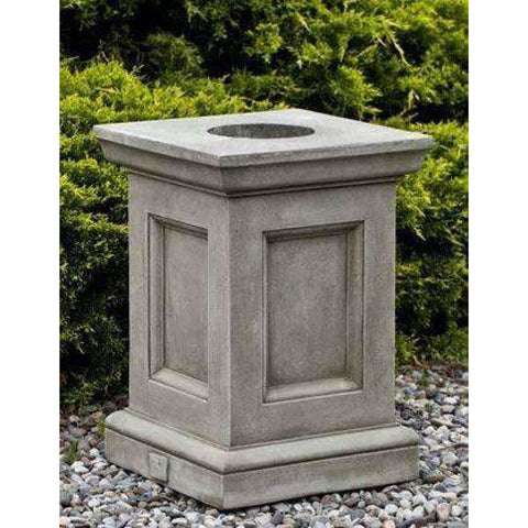 Image of Campania International Barnett Pedestal - Outdoor Pedestals