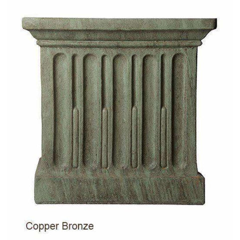Image of Campania International Basin System FBS-72 - Copper Bronze - Garden Fountain Supplies