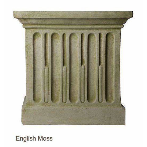 Campania International Basin System FBS-72 - English Moss - Garden Fountain Supplies