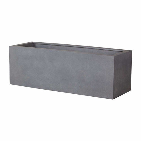 Campania International Big Box Planter in Lead Lite - Modular Planters