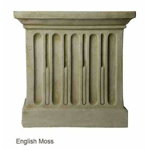 Campania International Bisbalos Fountain - English Moss - Patio Fountains