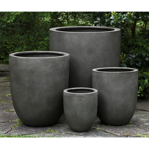 Campania International Bradford Planter - Concrete Lite