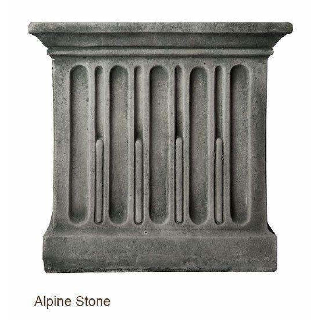Campania International Charleston Garden Fountain - Alpine Stone - Estate Fountains